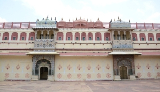 Pritam Niwas Chowk in City Palace – Voice Of Jaipur