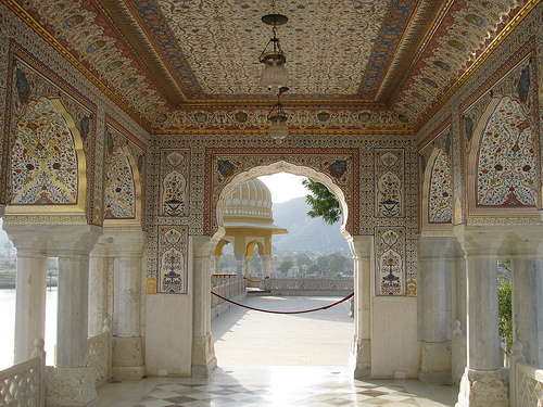 Jal Mahal From Inside Voice Of Jaipur